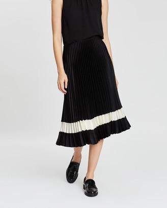 Theory Pleated Skirt B