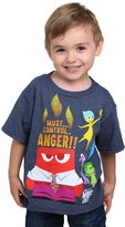 Mad Engine boys Inside Out Anger Control Kids Navy Heather T-Shirt M (10/12)