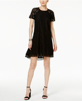 Rachel Roy High-Low Lace Trapeze Dress