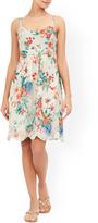 Monsoon Francesca Print Dress