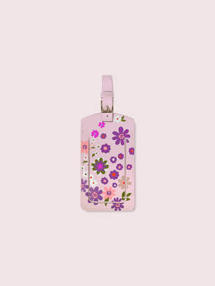 Kate Spade Pacific Petals Luggage Tag