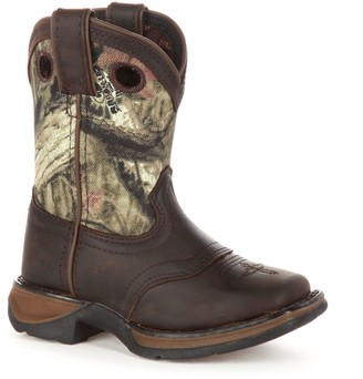 Durango Lil Sadle Toddler Camouflage Western Boots