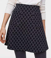 LOFT Diamond Pocket Flippy Skirt