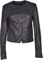 Dacute Studded Leather Jacket