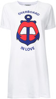 Yazbukey Overboard In Love T-shirt dress - women - Cotton/Spandex/Elastane - M