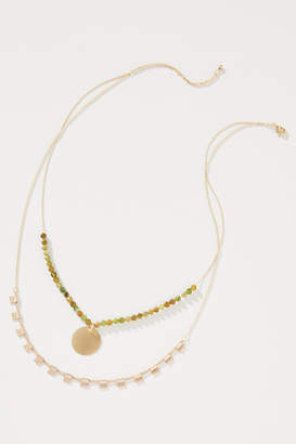 Anthropologie James Layered Necklace