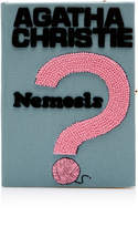 Olympia Le-Tan Nemesis Embroidered Canvas Clutch