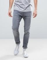 Esprit Skinny Fit Jeans In Mid Grey Wash