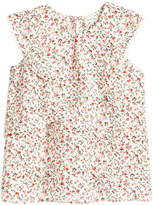 Monteau Ruffle Floral Top, Big Girls
