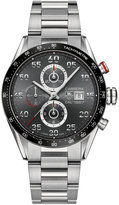 TAG Heuer Men's Swiss Automatic Chronograph Carrera Calibre 1887 Stainless Steel Bracelet Watch 43mm CAR2A11.BA0799