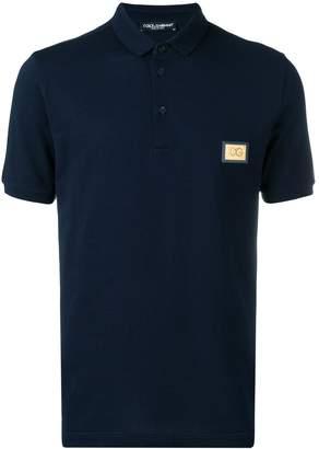 Dolce & Gabbana logo polo T-shirt