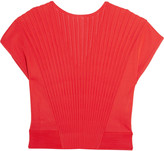 Vionnet Ribbed stretch-knit top