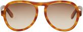 Chloé Tortoiseshell Aviator Sunglasses
