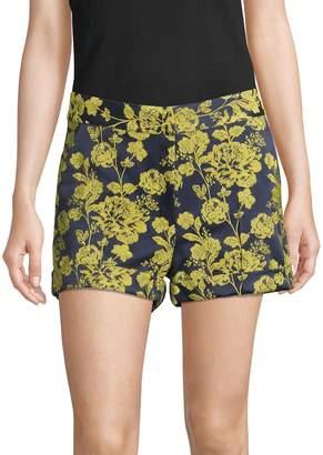 Cinq à Sept Elaine Peony Brocade Shorts