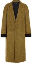 Haider Ackermann Wool And Alpaca-Blend Houndstooth Coat
