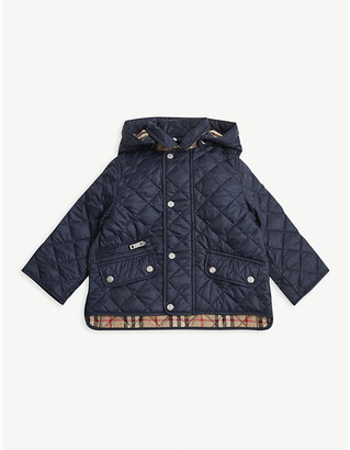 Burberry Brennan diamond quilted shell jacket 6-24 months