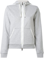 Moncler zip front hoodie - women - Cotton/Polyester - S