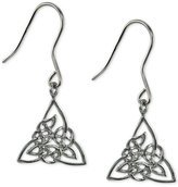 Giani Bernini Filigree Triangle Drop Earrings in Sterling Silver, Only at Macy's