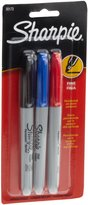 Sanford Sharpie Fine Point Permanent Markers, 3 Colored Markers(30173PP)