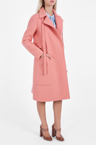 Rochas Multi Pocket Felt Coat