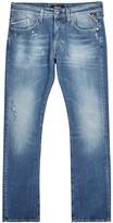 Replay Waitom Distressed Slim-leg Jeans