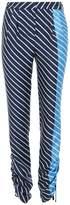 Tibi Delphina Stripe Pant in Navy Multi