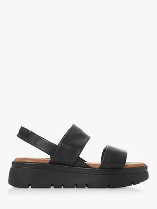 Bertie Larsen Leather Chunky Sole Sandals