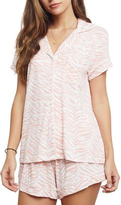 Rails Nessa Tiger Stripes Short Sleeve Pajama Set