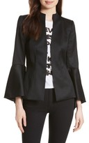 Alice + Olivia Women's Ivana Waterfall Sleeve Blazer
