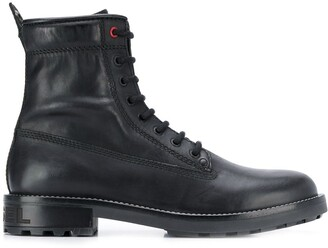 Diesel Lace-Up Ankle Boots