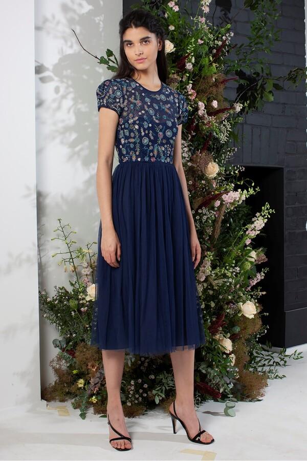 French Connection Diya Lace Mix Bridesmaid Dress
