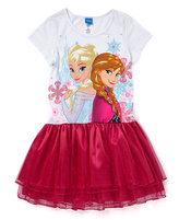 Jerry Leigh Frozen Red Elsa & Anna Tutu Dress - Girls