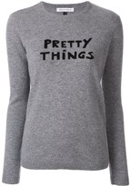 Bella Freud Pretty Things slogan sweater