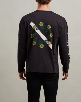 Saturdays NYC Rose New Long Sleeve Tee