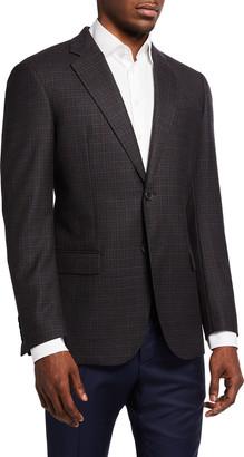 Emporio Armani Men's Small Box Wool Sport Jacket