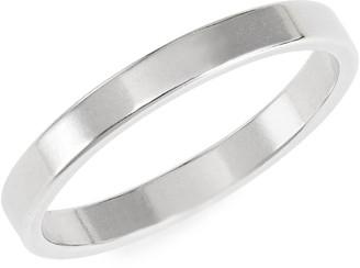 Bing Bang Minimal Sterling Silver Band