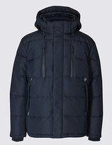 M&S Collection Hooded Jacket with StormwearTM