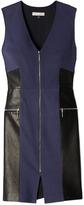 Rebecca Taylor Leather Panel Dress