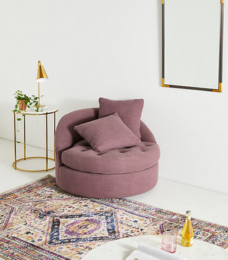 Anthropologie Barwick Swivel Chair By in Size ALL