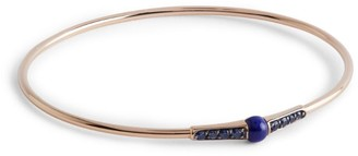 Pomellato Rose Gold and Sapphire M'ama Non M'ama Bangle