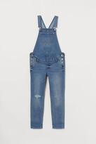 H&M MAMA Denim Overalls - Blue