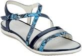 Geox Leather Cross-Strap Sandals - Vega