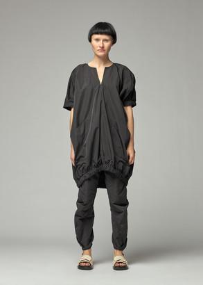 Zero Maria Cornejo Women's Rae Bomber Tunic Top in Black Size XL