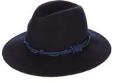 Blue Blue Japan Twisted-band wool-felt pastoral hat