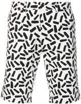 Dolce & Gabbana abstract print bermuda shorts