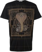 Givenchy cobra print T-shirt - men - Cotton - M