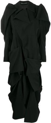 Yohji Yamamoto Draped Dress