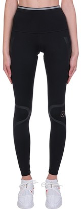 adidas by Stella McCartney Tp Tight P.blue In Black Synthetic Fibers