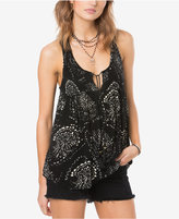O'Neill Juniors' Rolla Printed Tassel Top