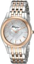 Salvatore Ferragamo Women's FG4080015 Lirica Two-Tone Watch